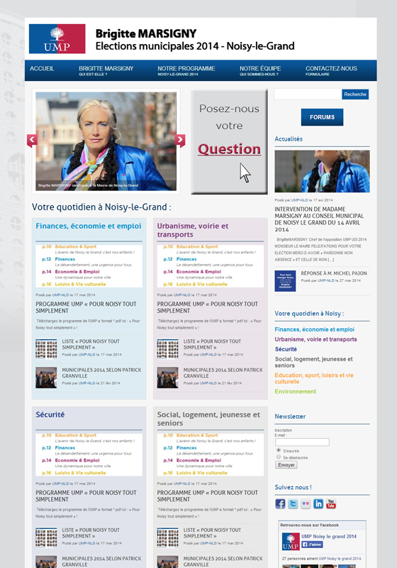 UMP : campagne municipale