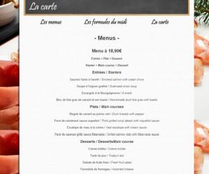 Restaurant – Le Bistrot